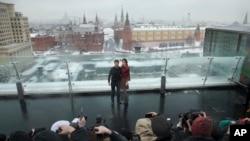 Том Круз в Москве