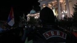 Beograd: Protest ispred Skupštine Srbije