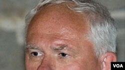 Sekretaris panitia hadiah Nobel Norwegia, Geir Lundestad.