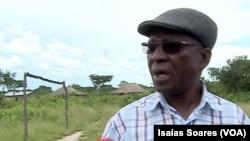 Alcino Siabala, administrador do Luquembo
