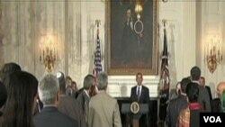 Predsjednik Barack Obama govori na iftaru u Bijeloj kući u Washingtonu