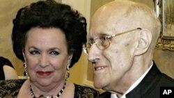 Галина Вишневская и Мстислав Ростропович - 2007 г.
