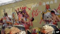 九天民俗技艺团是台湾新一代鼓艺代表