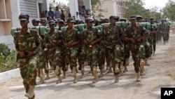 Baadhi ya wanajeshi wa Somalia mjini Mogadishu
