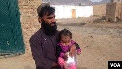کودک مصاب به پولیو یک دختر نُه ماهه میباشد.