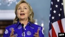 Amerika Dışişleri Bakanı Hillary Clinton, dün gece geç saatlerde Barış Dörtlüsü'nün temsilcilerini Washington'da ağırladı