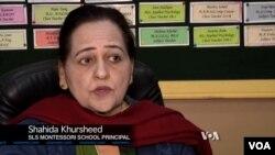 Shahida Khursheed, Principal, SLS Montessori School