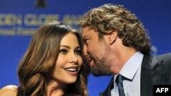 Glumci Sofia Vergara i Džerard Batler saopštili su imena nominovanih za 69. godišnju dodelu Zlatnih globusa.