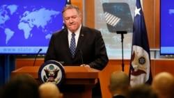 VOA: EE.UU. Pompeo justifica acciones contra Irán