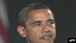 Обама выступает на городском собрании на юго-западе США