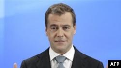 Президент РФ Дмитрий Медведев. Сколково. 18 мая 2011 года