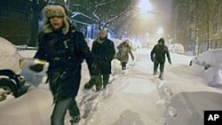 Blizzard Slams US Northeast; Travel in Disarray