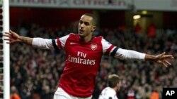Penyerang klub Arsenal Theo Walcott tidak akan dikenai sanksi oleh Federasi Sepak Bola Inggris (foto: dok).