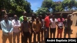 Os 12 ugandeses refutaram a acusação