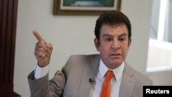 Salvador Nasralla, candidat à la présidentielle au Honduras.