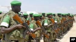 Les troupes ougandaises (ARCHIVES)