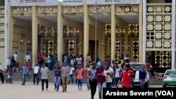 FAC de droit de l'université Marien Ngouabi à Brazzaville, le 20 mars 2012. (VOA/Arsène Severin)
