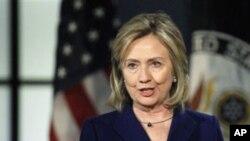 克林顿国务卿2月15日在乔治华盛顿大学发表自由使用互联网讲话