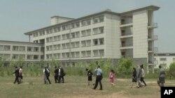 Trường Đại học Khoa học và Kỹ thuật Bình Nhưỡng, nơi ông Tony từng giảng dạy môn kế toán.