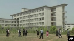 Pyongyang University of Science and Technology is where Tony Kim is said to have been working in North Korea.