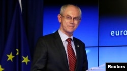 Presiden Dewan Eropa Herman Van Rompuy (Foto: dok).