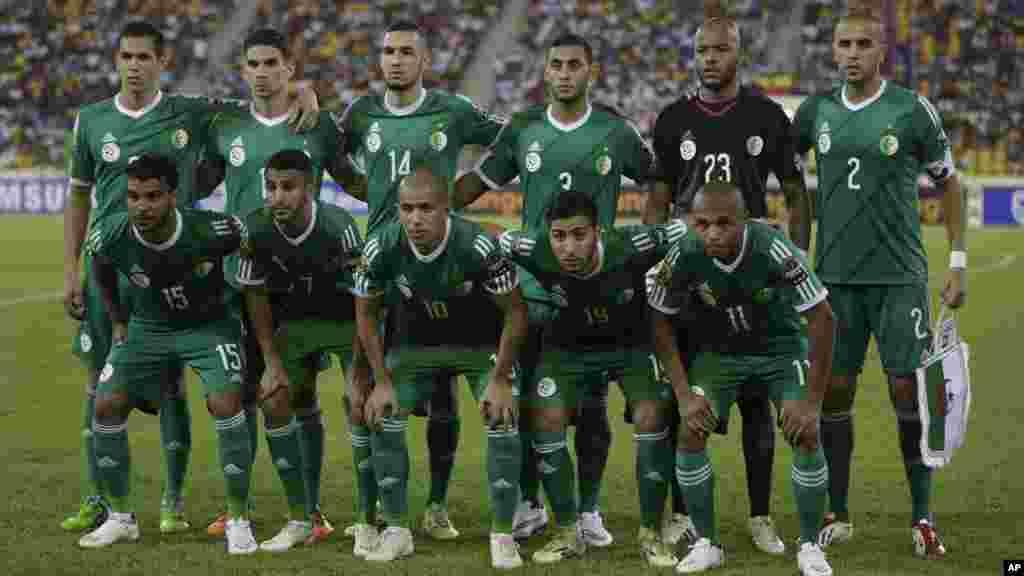 Algeria national soccer team