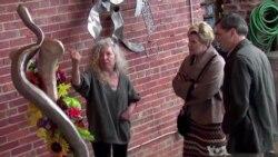 Artist Reinvents Herself After Near-Fatal Accident
