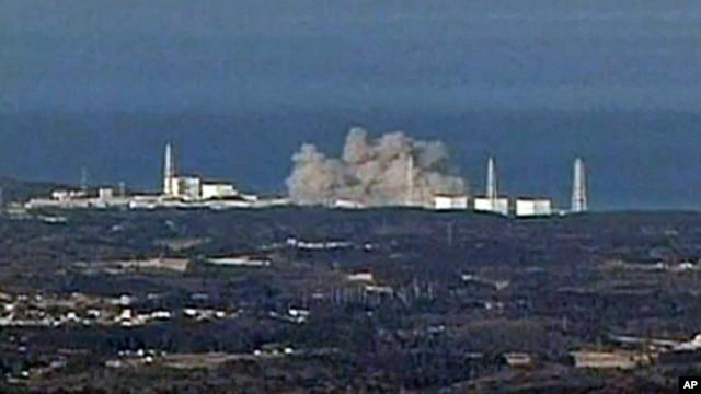 Japan nuclear plants explosion