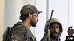 Лівійські повстанці у Триполі