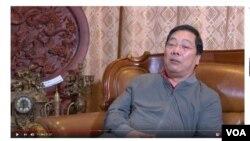 Nguyên thứ trưởng ngoại giao Nguyễn Thanh Sơn. (Hình trích từ trang YouTube Nguyen Tuan Anh)