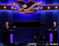 Hôm 22/10, hai ông Trump, Biden có cuộc tranh luận cuối cùng trước bầu cử tổng thống Mỹ
