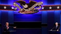 Dernier débat plutôt respectueux entre Trump et Biden