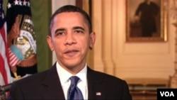 Presiden Barack Obama datang di gedung Capitol
