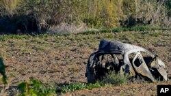 马耳他记者加里吉亚在汽车里被炸死