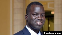 Congressional legislative fellow and former Lost Boy of South Sudan, David Dau Achuoth. (Picture courtesy of David Dau)