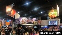 Suasana Comic-Con International 2019 di San Diego Convention Center, San Diego, California (Foto: VOA)