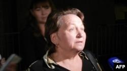Любовь Ярошенко - мать Константина Ярошенко.