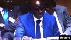 Aristides Gomes na UN