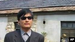山東盲人維權人士陳光誠(資料照片)