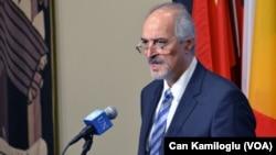 Suriye'nin BM Daimi Temsilcisi Beşar el Caferi