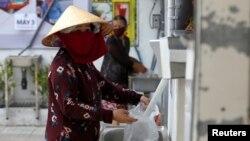 Rice ATM coronavirus Ho Chi Minh Vietnam