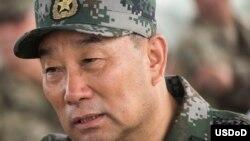 中國北部戰區司令員宋普選(2017年8月16日,美國國防部圖片)