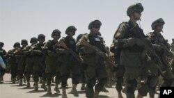 نیٹو سے افغانوں کو سلامتی کی ذمہ داریاں منتقل کرنے کا پہلا مرحلہ مکمل