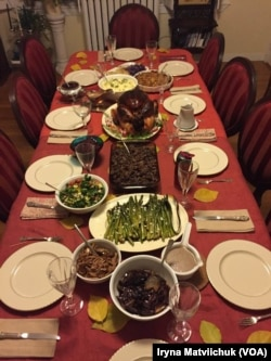 Вечеря на День подяки