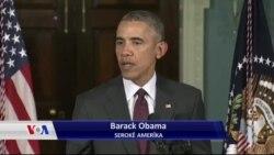 سەرۆک ئۆباما باس لە ئاگربەستی سوریا دەکات