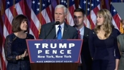 MIKE PENCE: This is a Historic Night and American People Have Elected Their Champion