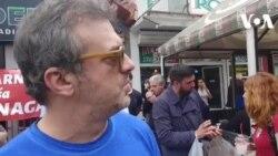 """VIDEO: Sergej Trifunović o skupu """"Burek solidarnosti"""""""