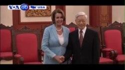 Phái đoàn Quốc hội Mỹ kết thúc chuyến thăm Việt Nam (VOA60)