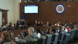 OEA pone presión sobre gobierno de Nicaragua