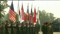 中国军人首次参与金色眼镜蛇军演